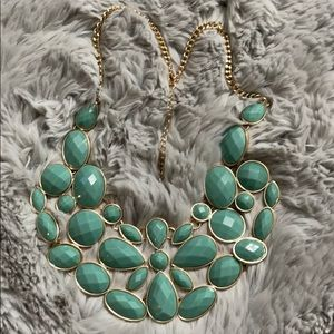 🌹buy 1 take 1 free Light turquoise necklace